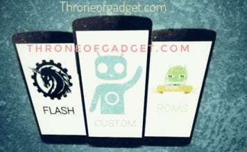How to flash custom rom or root