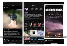 enable dark mode in Instagram