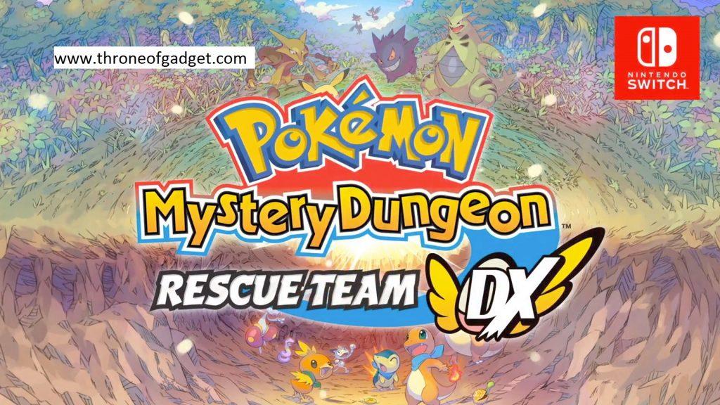 Pokemon Mystery Dungeon New Adventure - Nintendo Switch